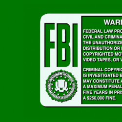 Touchstone Home Entertainment/Gallery/FBI Warnings