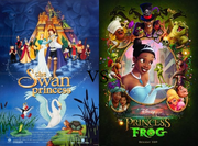 Swan Princsss vs Princess and the Frog poster.png