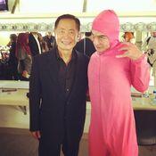 @papafranku - Pink Guy and Jackie Chan (Dec 5, 2014)
