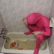 @papafranku - Pink Guy, Human Ramen (Feb 3, 2015)
