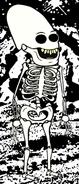 Zargonian Skeleton