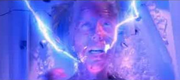 Ashley being electrocuted in alternate death.png