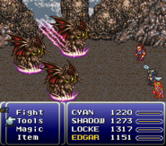FFVI SNES Shadow Fang
