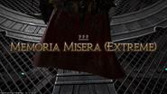 FFXIV Memoria Misera