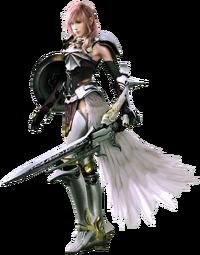 Lightninig em Final Fantasy XIIII-2