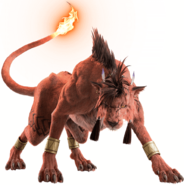 Red XIII from FFVII Remake