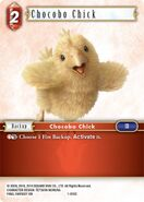 Chocobo Chick 1-019C from FFTCG Opus
