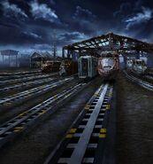 FFBE Abandoned Railway BG