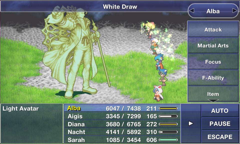 White Draw