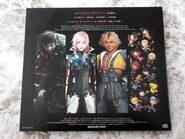 Final Fantasy Go There Special Compilation CD Back