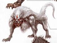 Loup des neiges Artwork