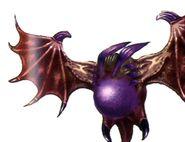 Red Bat FFVIII Color Art