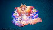 FFLII Princess Sarah Rank 8 Artwork