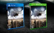 Final Fantasy XV official Japanese boxart