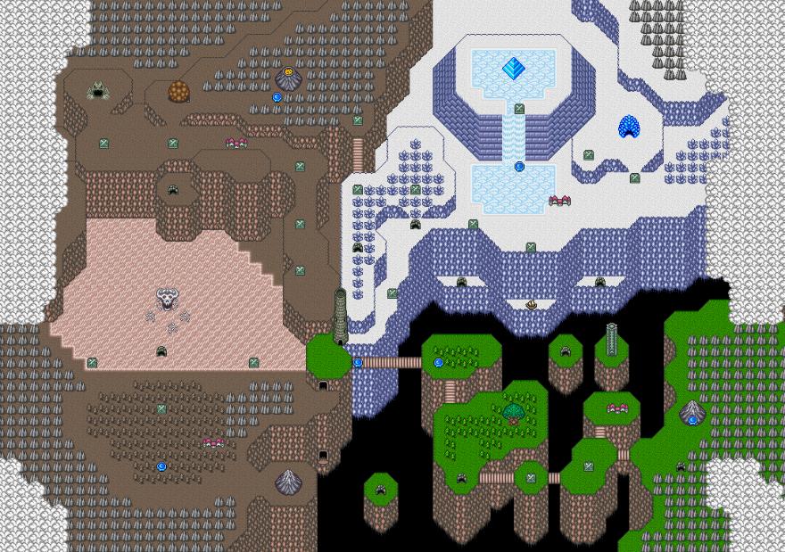 Final Fantasy Mystic Quest locations
