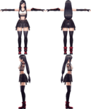 Tifa Lockhart from WotV render 2