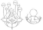 Tyrant's hovercraft front concept for Final Fantasy Unlimited