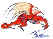 Amano red dragon2