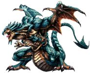 Blue Dragon FFVIII Color Art