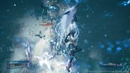 Dolphin Flurry from FFVII Remake
