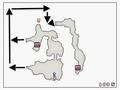 FFIVDS Underground Waterway North B2 Map with hidden passage
