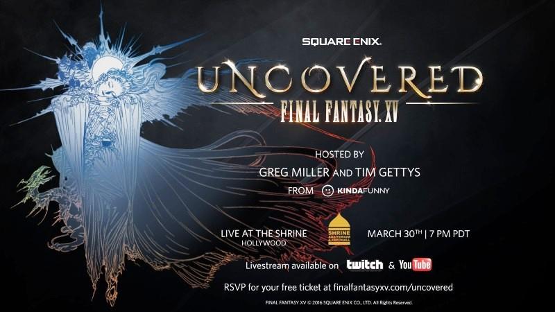 Uncovered: Final Fantasy XV