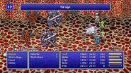 Edge using Mirage from FFIV Pixel Remaster