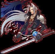 KHUX Illustrated Sephiroth 6★ Medal