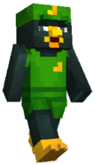 Minecraft FFXV Kenny Crow