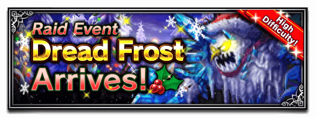Dread Frost Arrives!