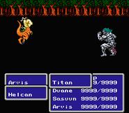 FFIII NES Punch