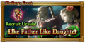 FFRK Like Father Like Daughter Event