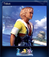 FFXX2 HD Steam Card Tidus
