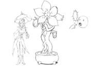 Hughug concept sketch for Final Fantasy Unlimited