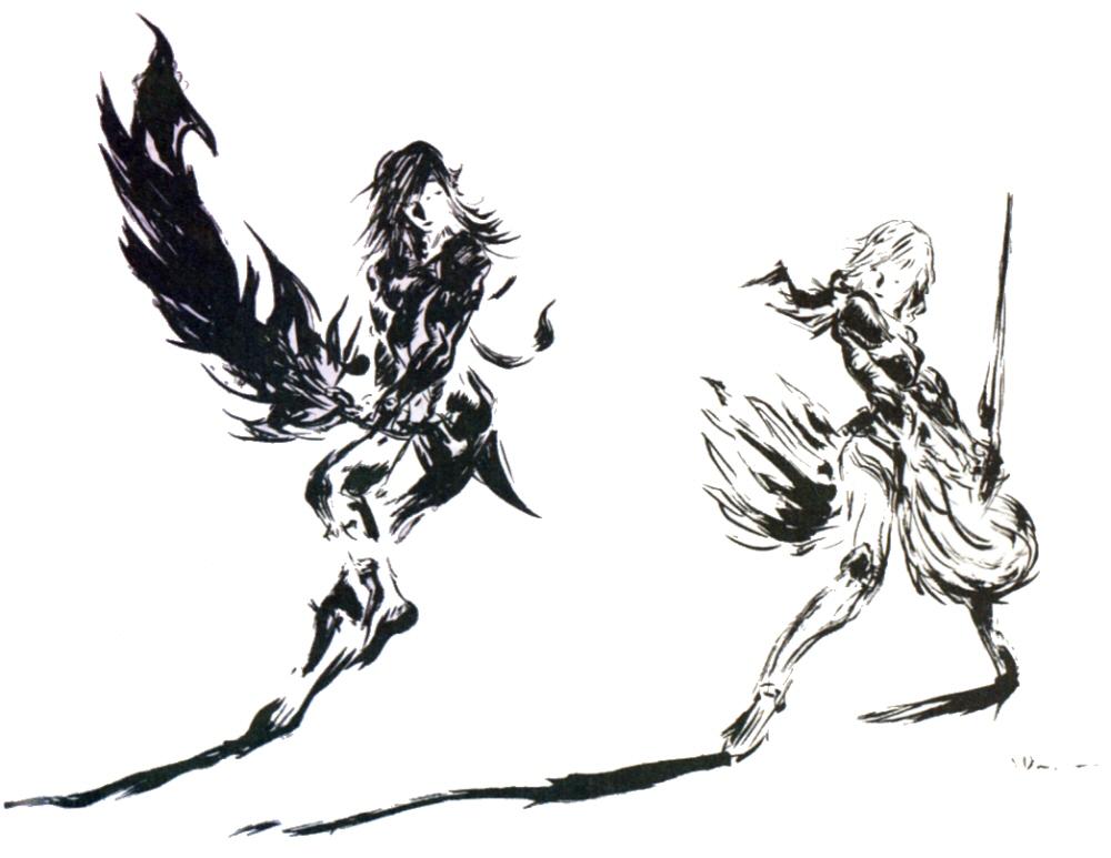 Final Fantasy XIII-2 concept art
