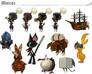 FFXIVARR Minions Artwork