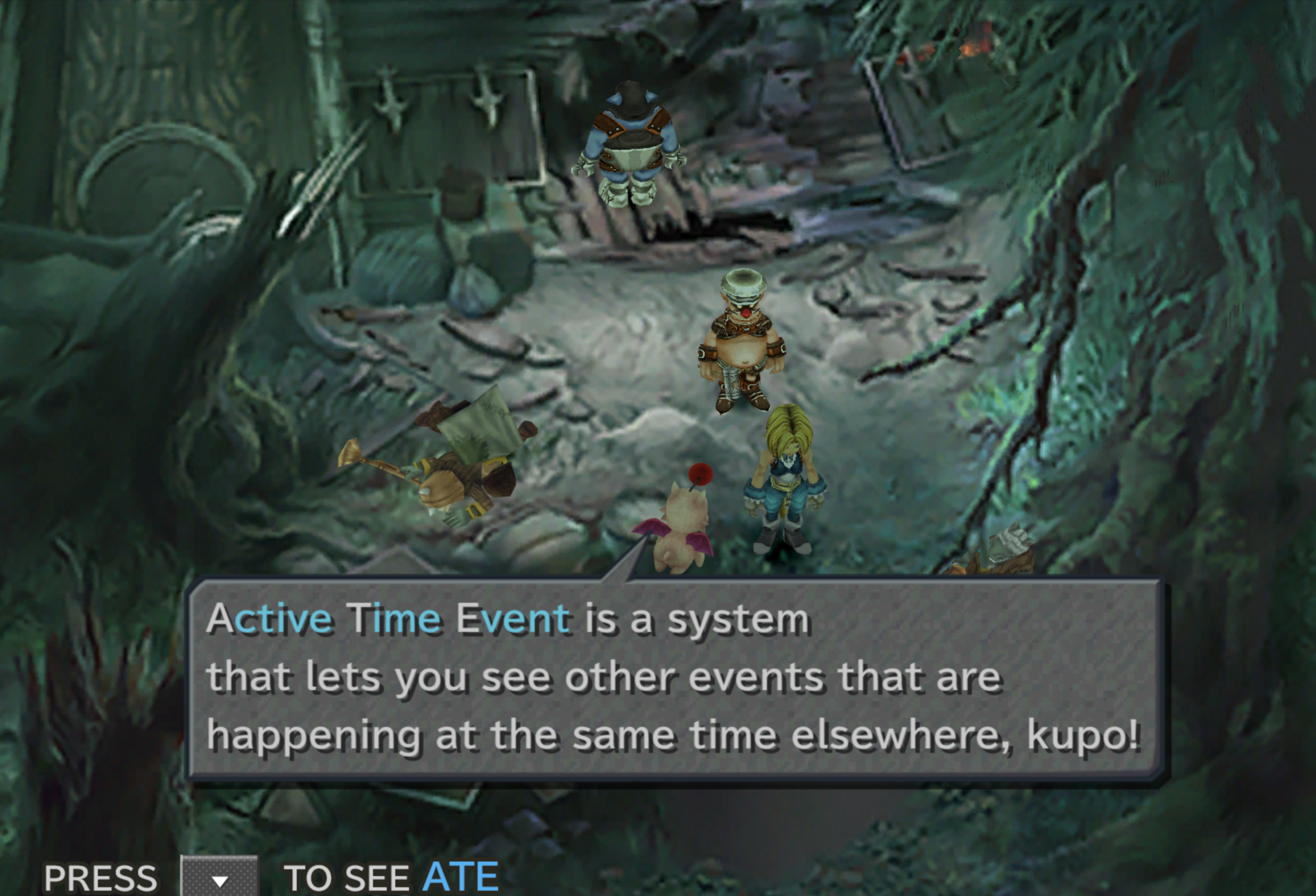 Active Time Event