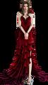 FFVIIR Aerith abito rosso