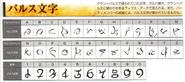 Gran Pulse Alphabet