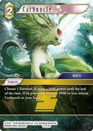 Carbuncle 5-077H from FFTCG Opus