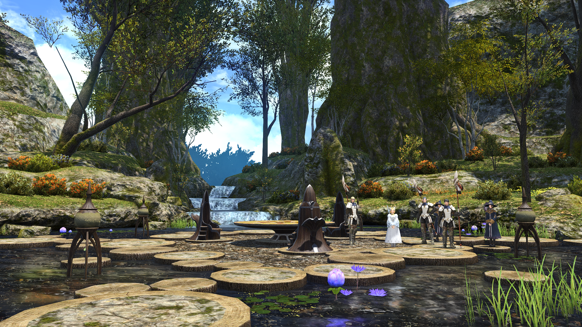 FFXIV ARR Lotus Stand.png