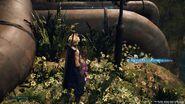 MP Up Materia in Aeriths garden from FFVII Remake