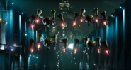 Shinra robots in FFVII Remake