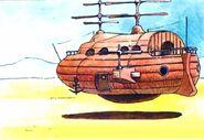 Cid's-Airship-FFII