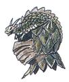 Dragon Helm FFIII Art