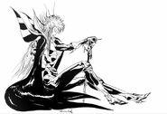 Emperor Line Art