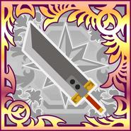 FFAB Buster Sword (Zack) UR
