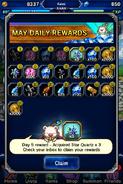 FFBE May 2016 Daily Rewards (Global)
