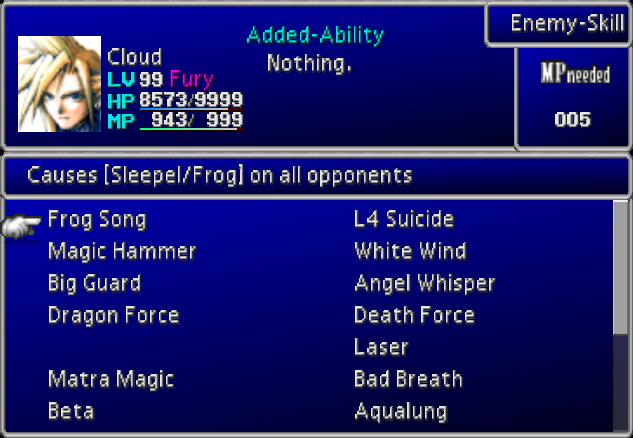 Enemy Skill (Final Fantasy VII)