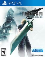 FFVII Remake North American box art for PS4